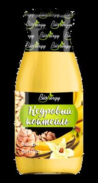 Кедровый коктейль BioNergy с бананом и ванилью