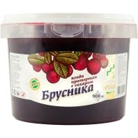 """Брусника протертая с сахаром """"ведро пластик"""""""