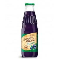 """Голубичный сок """"Дикая ягода"""" 0,75 литра"""