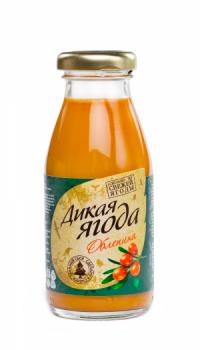 """Облепиховый сок """"Дикая ягода"""" 0,2 литра"""