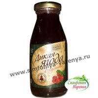 """Брусничный сок """"Дикая ягода"""" 0,2 литра"""