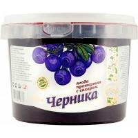 "Черника протертая с сахаром ""ведро пластик"""