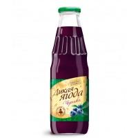 """Черничный сок """"Дикая ягода"""" 0,75 литра"""