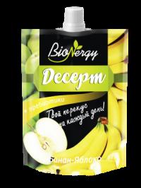 Фруктовое пюре десерт BioNergy Яблоко-Банан