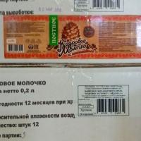 Кедровое молочко Постное (Шоколад)