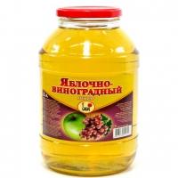 Яблочно-виноградный сок