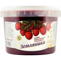 "Земляника протертая с сахаром ""ведро пластик"""